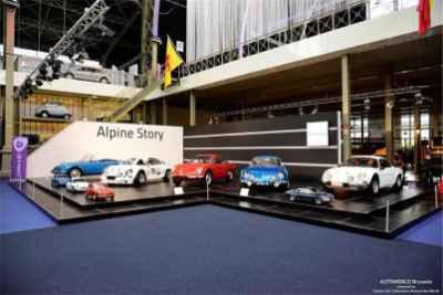 Autoworld 2016 Alpine Story 50