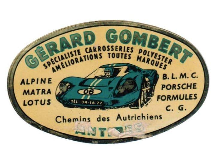 Collection Gérard Gombert Plaque Garage | Gérard Gombert, son incroyable collection d'Alpine !