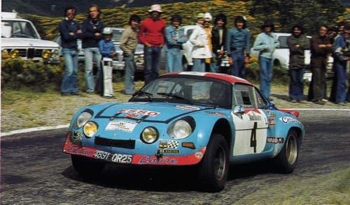 Jacques Henry Alpine A110 9   Jacques Henry, le véritable Gentleman Driver sur Alpine !