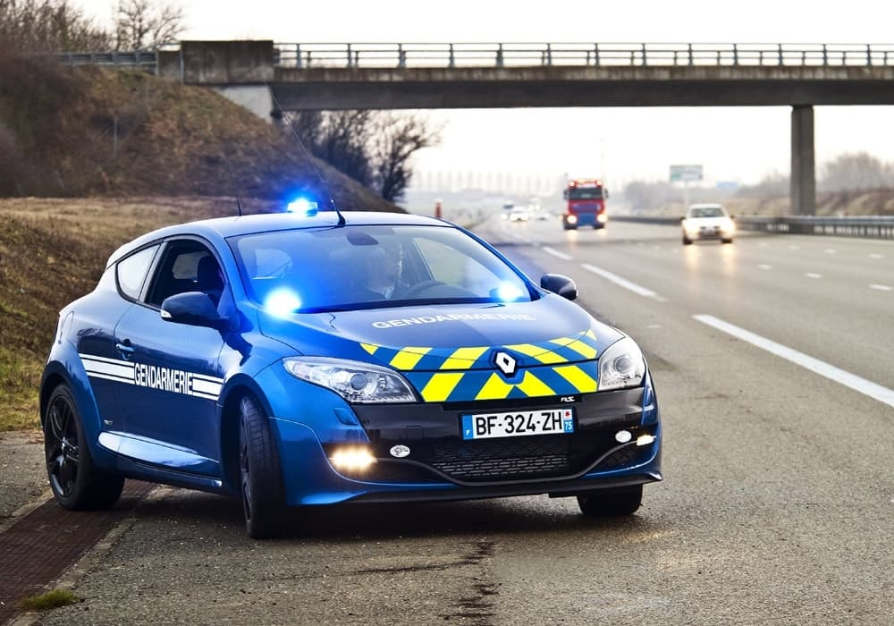 Megane RS BRI Gendarmerie | Alpine A110 Gendarmerie, la rumeur se précise en 2021 !
