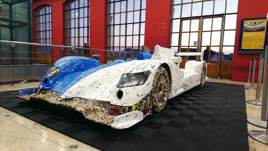 Alpine A450 Art Car Ghass