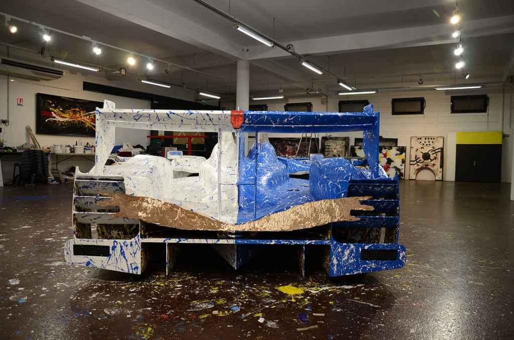 Alpine A450 Art Car Ghass Gare Marseilles 8 | A la rencontre de l'Alpine A110 X FELIPE PANTONE au Art Paris