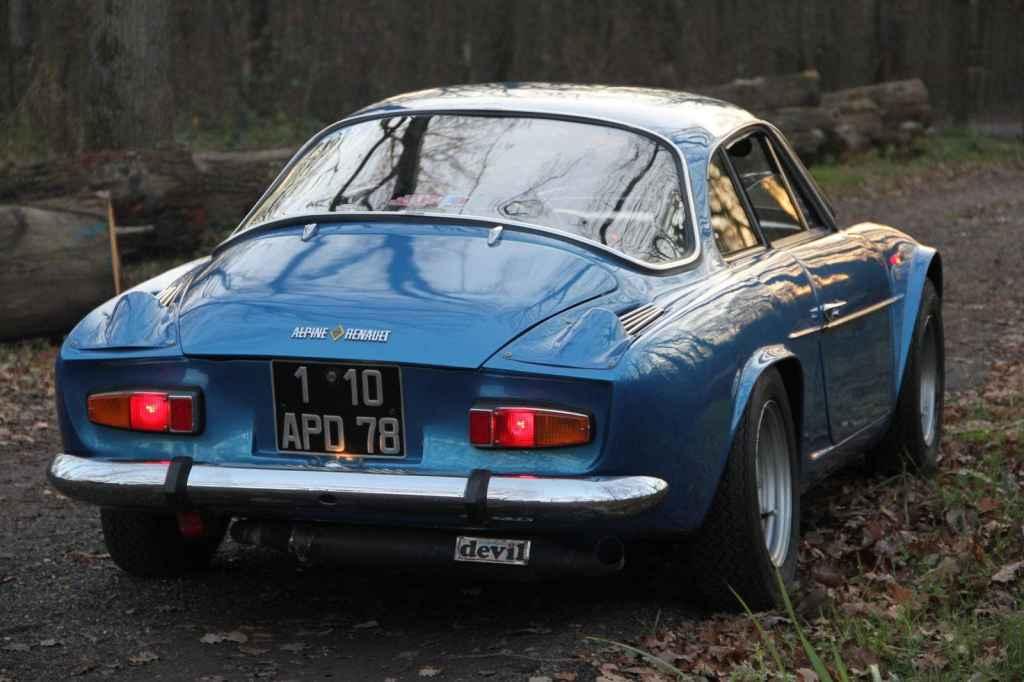 Jean Pascal DAuce Alpine A110 1300 1971 3 | Jean-Pascal Dauce et son Alpine A110 1300 de 1971