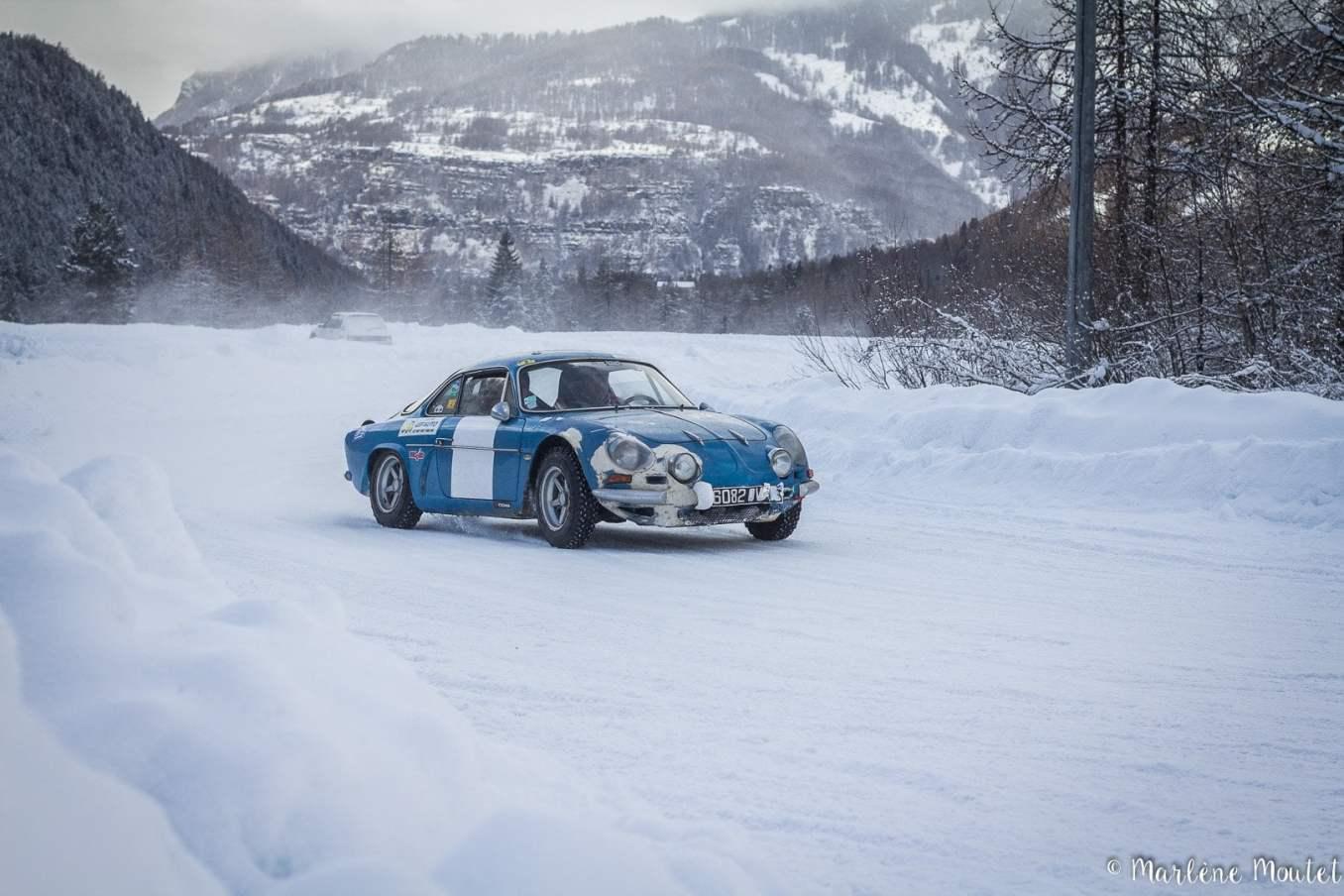Alpine A110 A310 Orcières piste glace marlene moutet 2 | Des Alpine et 1000 mètres de piste sur glace !