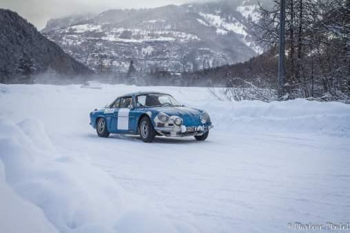Alpine A110 A310 Orcières piste glace marlene moutet - 2
