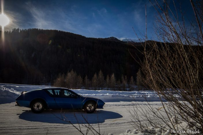Alpine A110 A310 Orcières piste glace marlene moutet - 22
