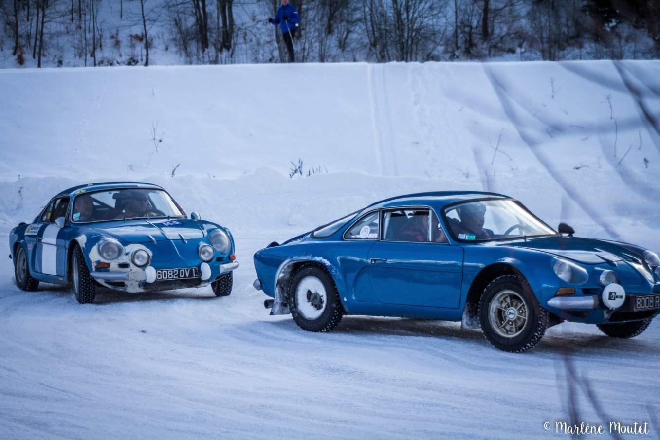 Alpine A110 A310 Orcières piste glace marlene moutet 30 scaled | Des Alpine et 1000 mètres de piste sur glace !