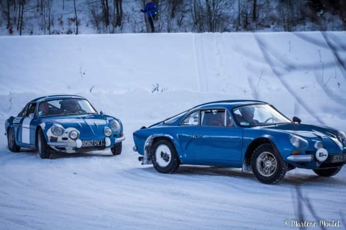 Alpine A110 A310 Orcières piste glace marlene moutet - 30