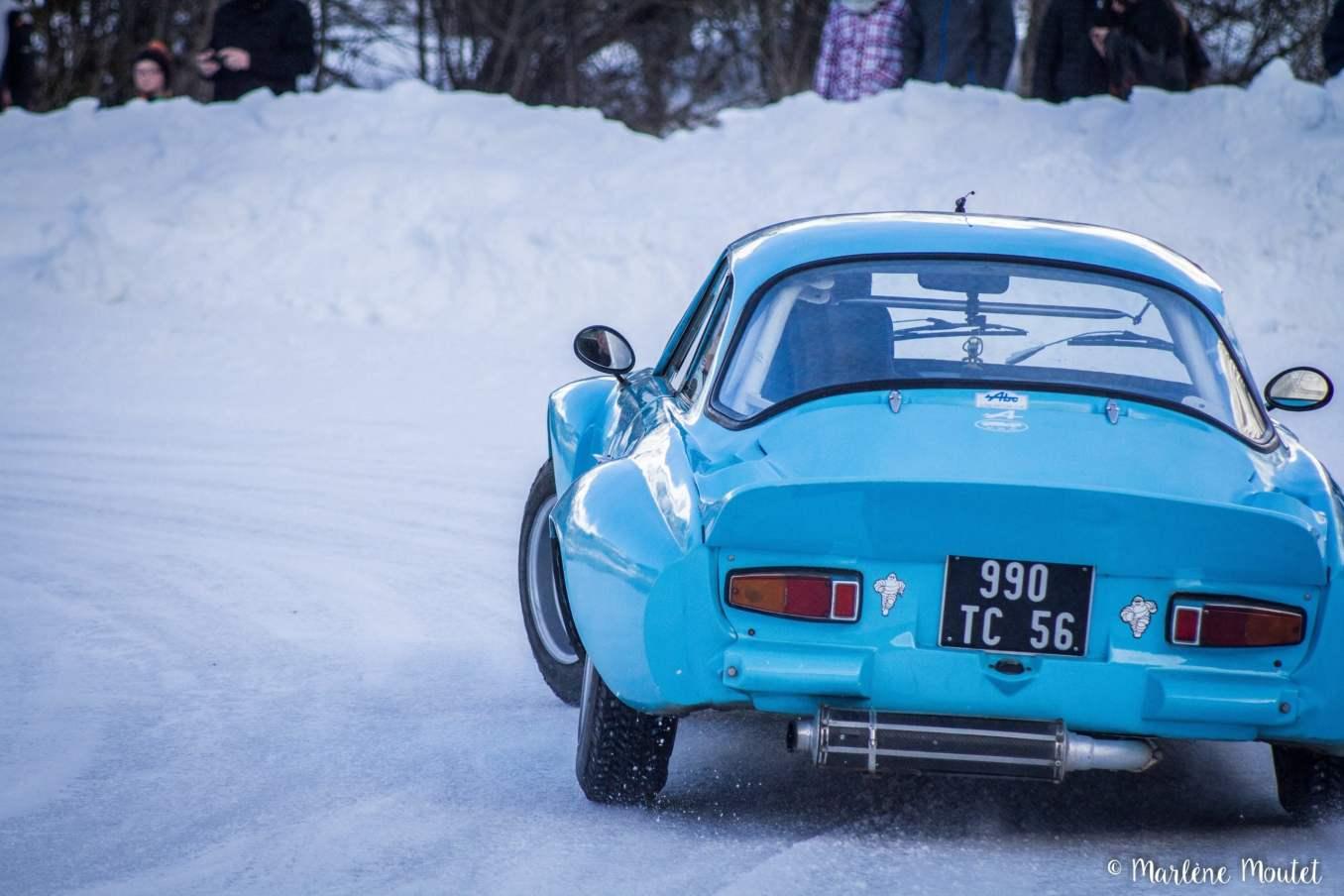 Alpine A110 A310 Orcières piste glace marlene moutet 33 scaled | Des Alpine et 1000 mètres de piste sur glace !
