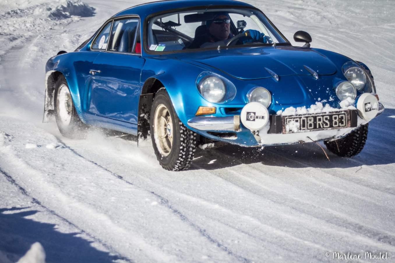 Alpine A110 A310 Orcières piste glace marlene moutet 40 scaled | Des Alpine et 1000 mètres de piste sur glace !