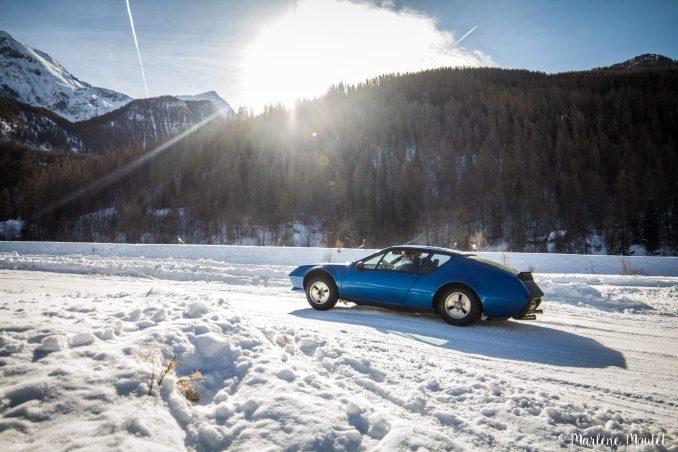 Alpine A110 A310 Orcières piste glace marlene moutet - 43
