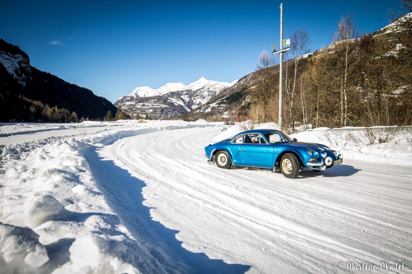 Alpine A110 A310 Orcières piste glace marlene moutet 47 scaled | Des Alpine et 1000 mètres de piste sur glace !