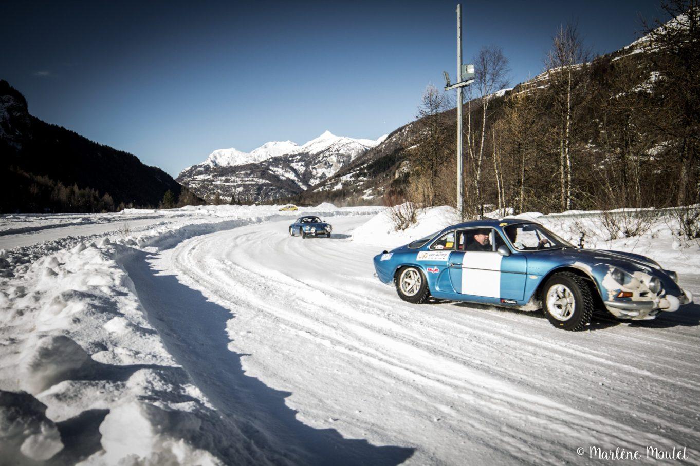 Alpine A110 A310 Orcières piste glace marlene moutet - 48