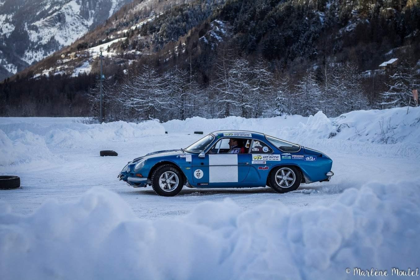 Alpine A110 A310 Orcières piste glace marlene moutet 7 | Des Alpine et 1000 mètres de piste sur glace !