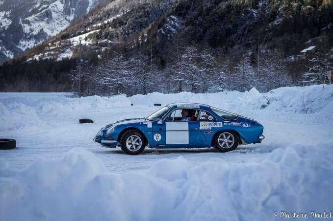 Alpine A110 A310 Orcières piste glace marlene moutet - 7