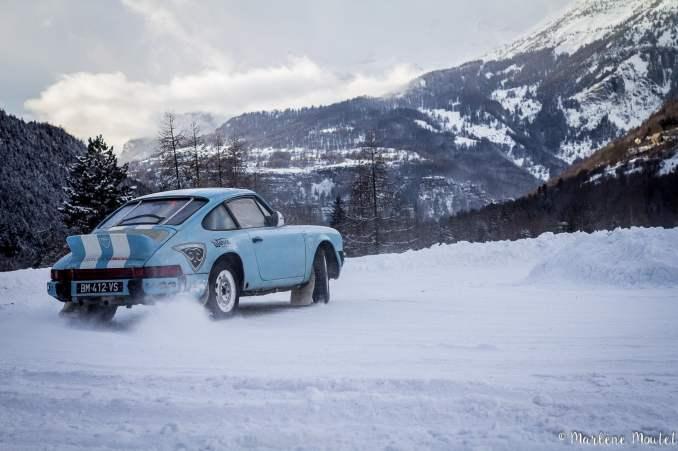 Alpine A110 A310 Orcières piste glace marlene moutet - 9
