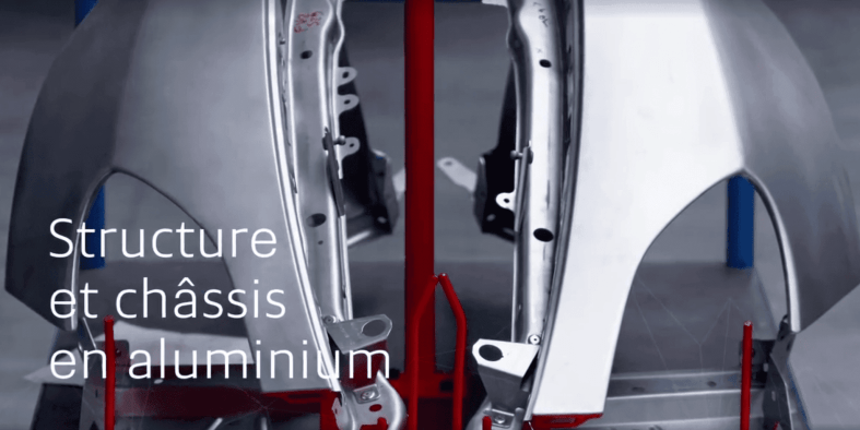 Structure et châssus en aluminium