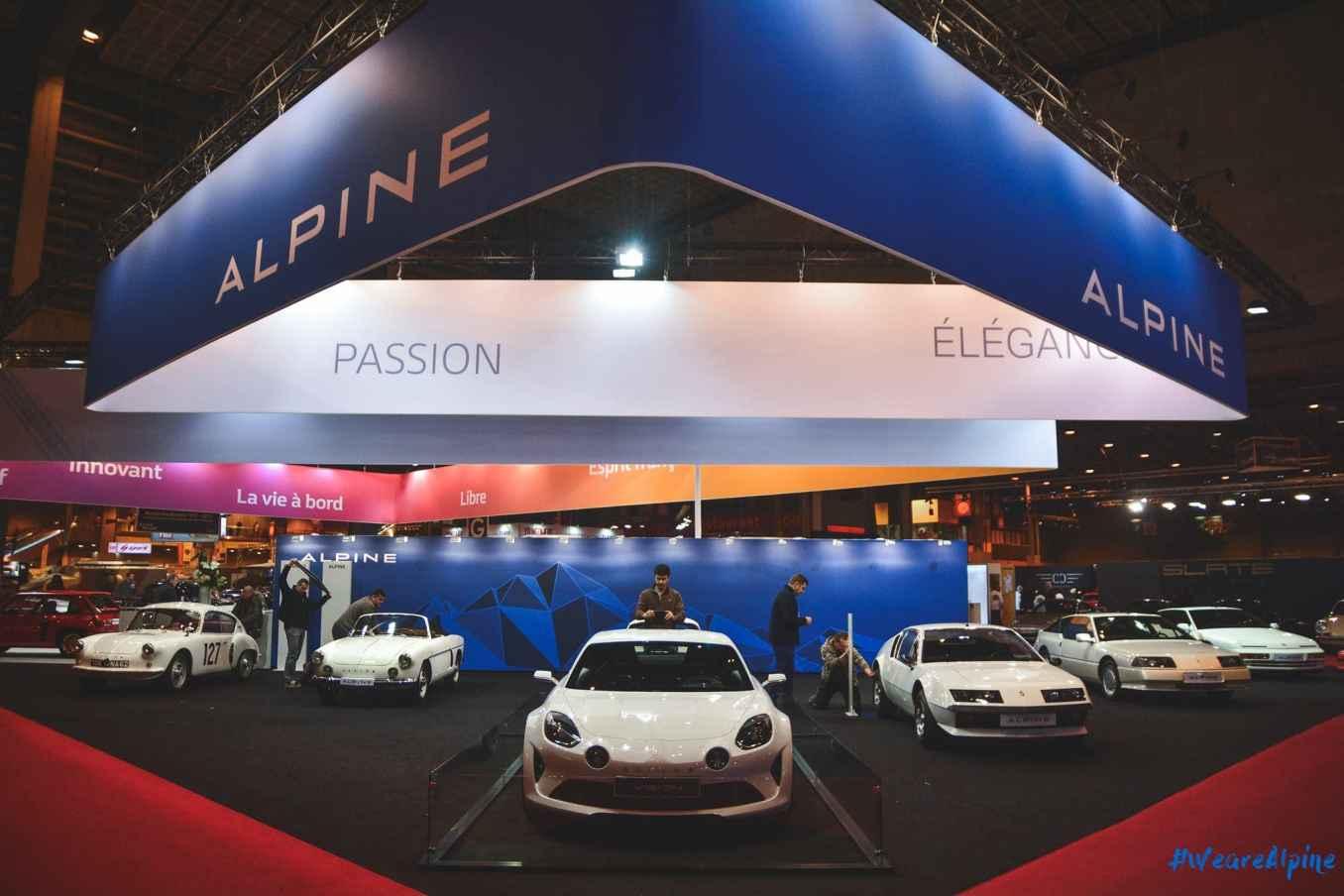 Alpine dévoile un siège baquet poids plume de 13,1 kg 2
