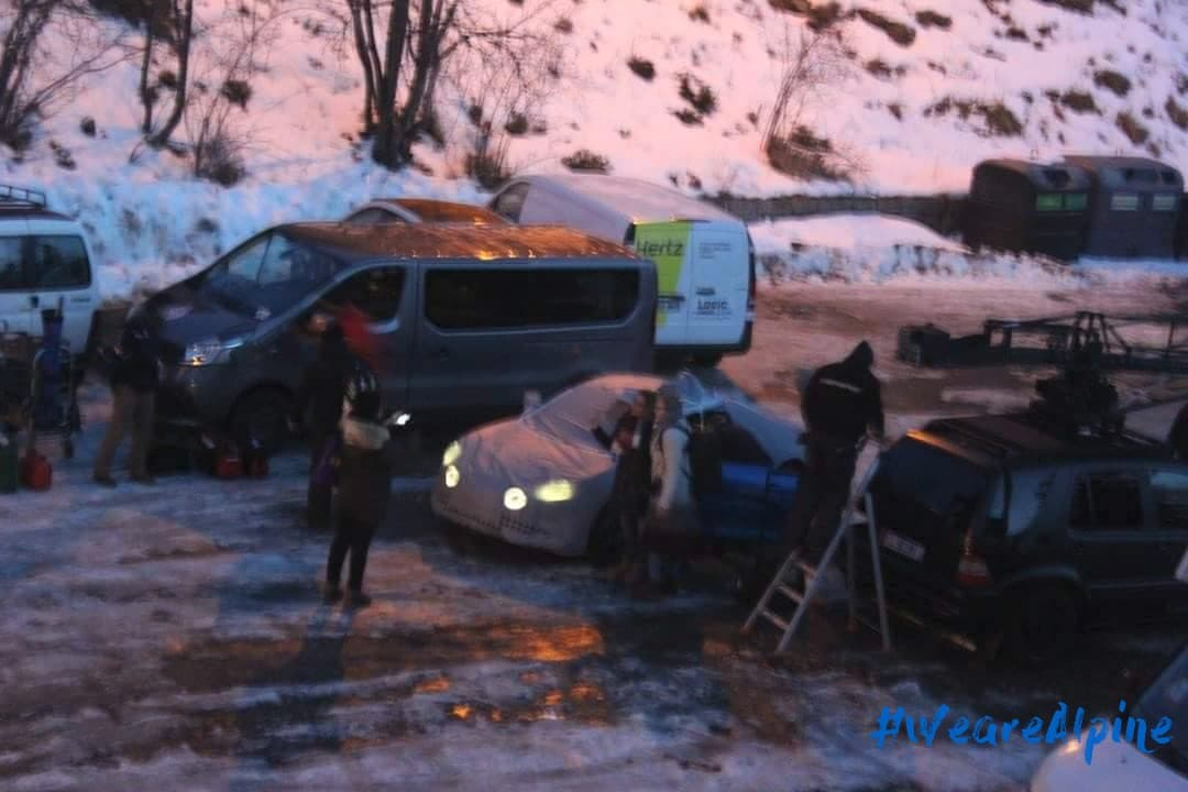 Alpine Planet tournage turini 2017 0 1 | Scoop | Alpine en tournage au Col du Turini
