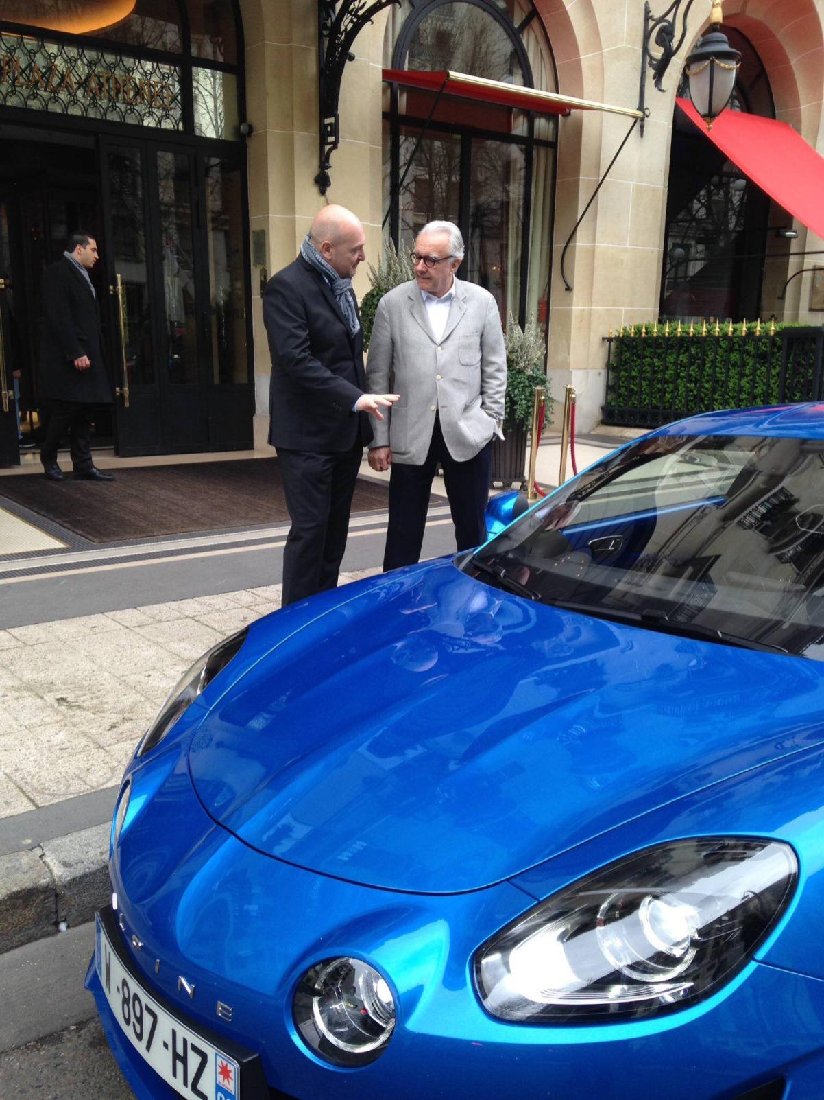 Alpine A110 Good France Paris Alain Ducasse - 2