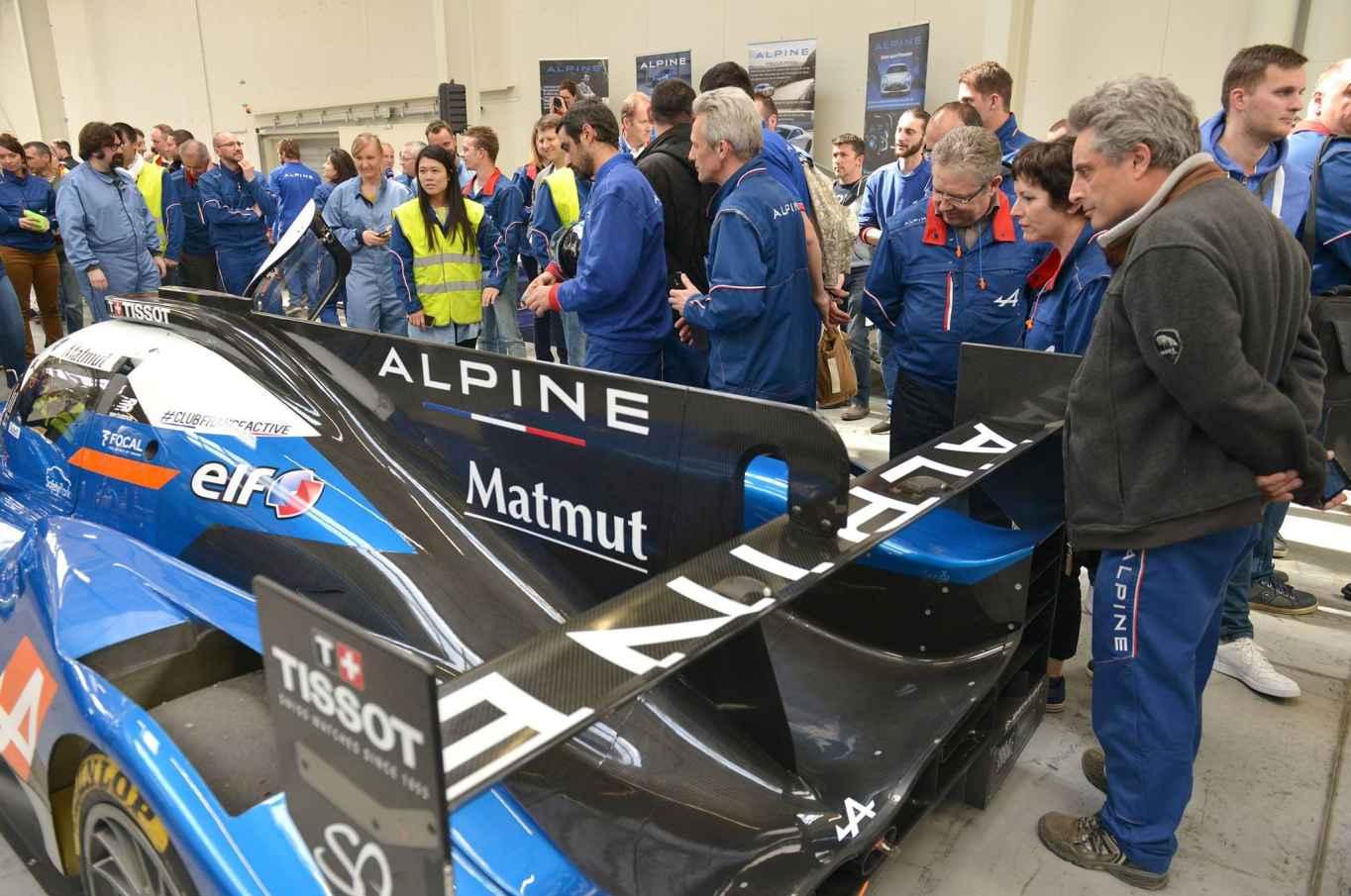 Alpine A110 Dieppe equipe Signatech - 8