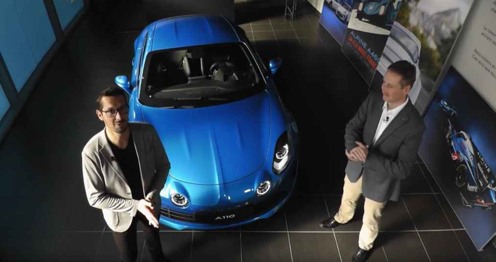 Alpine A110 Showroom Live Sessions - 1