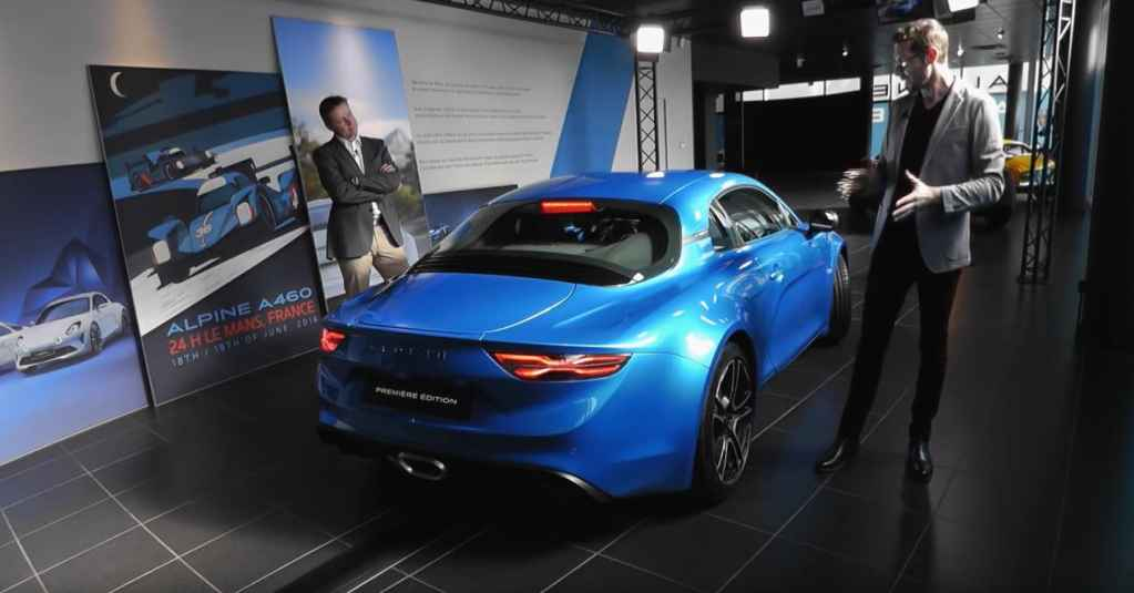 Alpine A110 Showroom Live Sessions - 3