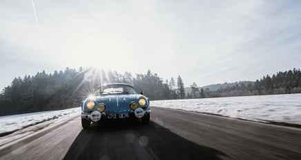 Alpine LAB et son Alpine A110 1300S Usine de 1968 Classic Driver - 33