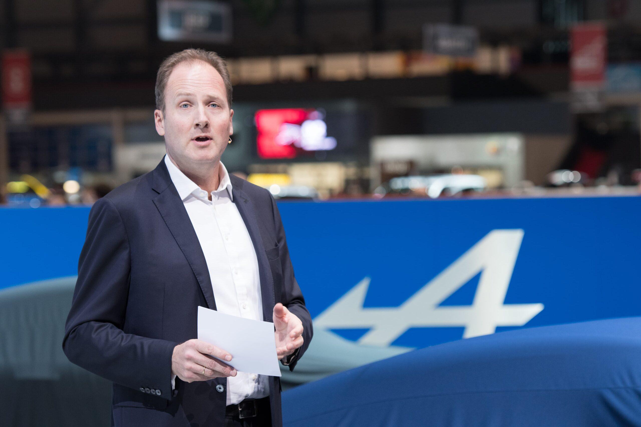 Michael van der Sande au Salon de Genève