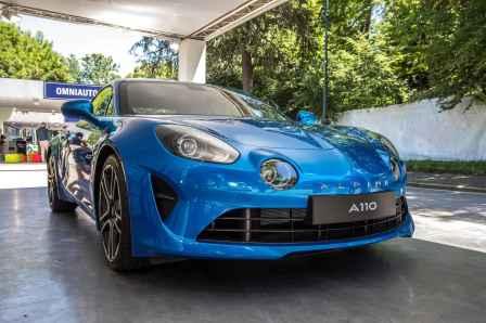 Alpine A110 2017 Mickael van der sande Parco Valentino - Salone dell'Auto di Torino - 5
