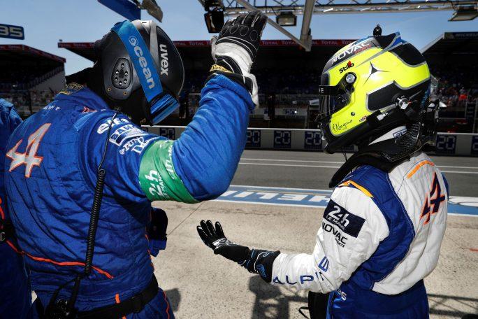 Alpine A470 24 Heures du Mans 2017 Signatech Matmut Endurance WEC Panciatici Ragues Menezes Rao Negrao Dumas (8)