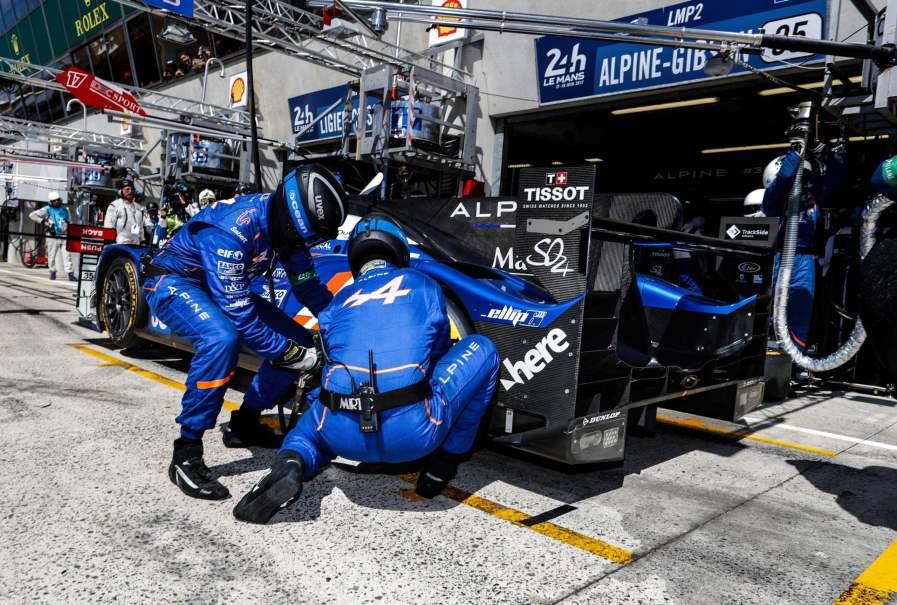 Alpine A470 24 Heures du Mans 2017 Signatech Matmut Endurance WEC Panciatici Ragues Menezes Rao Negrao Dumas (9)