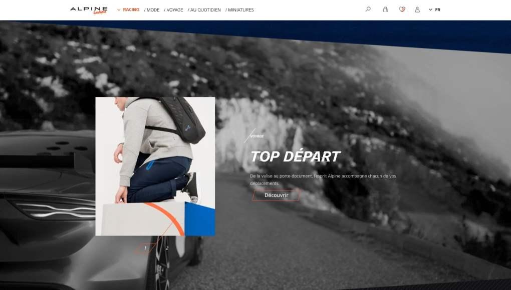 Boutique en ligne Alpine Cars Store Elegance Racing Signatech miniatures sacs bagages vêtements - 12