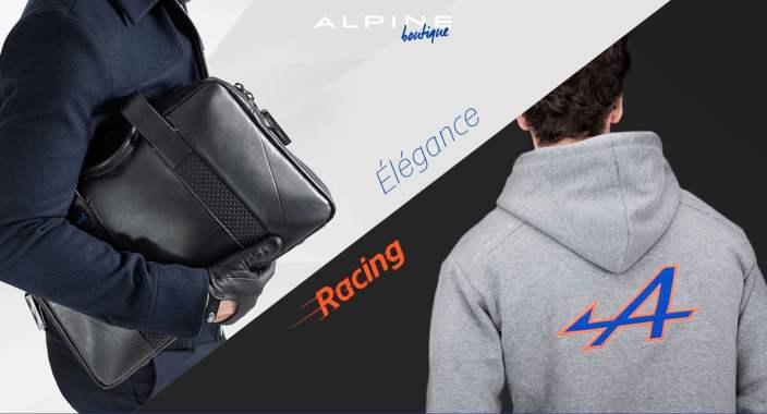 Boutique en ligne Alpine Cars Store Elegance Racing Signatech miniatures sacs bagages vêtements - 2