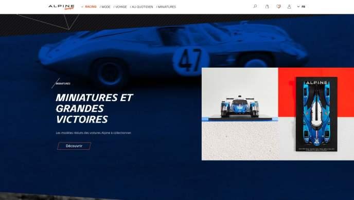 Boutique en ligne Alpine Cars Store Elegance Racing Signatech miniatures sacs bagages vêtements - 5