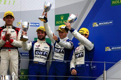 second podium pour Signatech Alpine Matmut