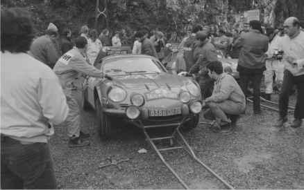 Alpine A110 1600S 1971 Usine Jean Pierre Nicolas - 24