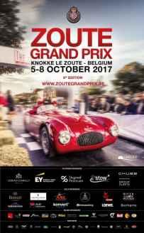 Affiche Zoute Grand Prix 2017 Alpine A110