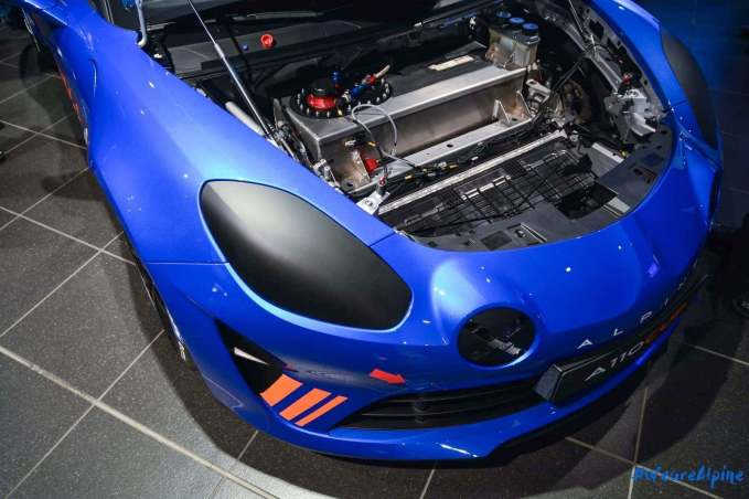 Alpine A110 Cup Signatech Studio Boulogne Billancourt GPE Auto - 18