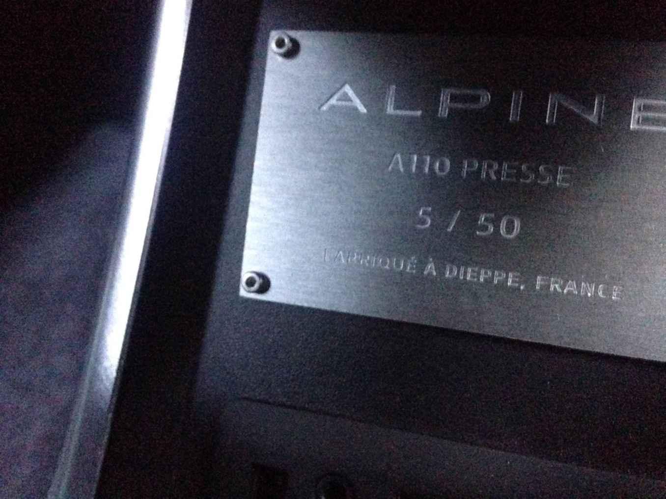Alpine A110 Essais Presse International 2   Les essais presse débutent pour l'Alpine A110 !