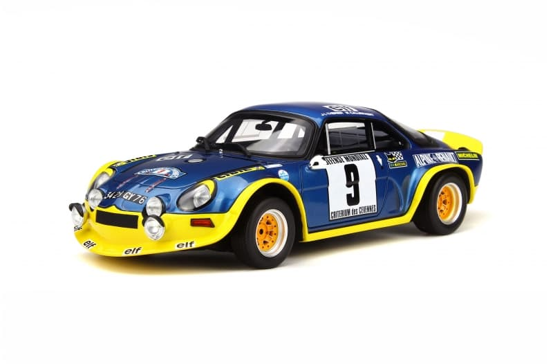 A110 1600 S Turbo OTTO Planet 1:18eme - 1