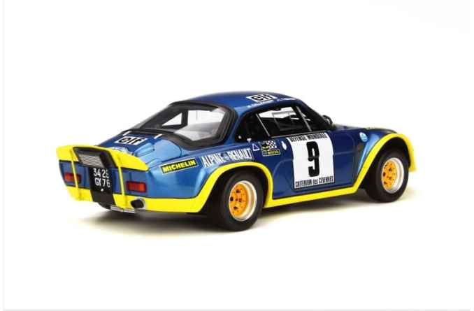 A110 1600 S Turbo OTTO Planet 1:18eme - 2