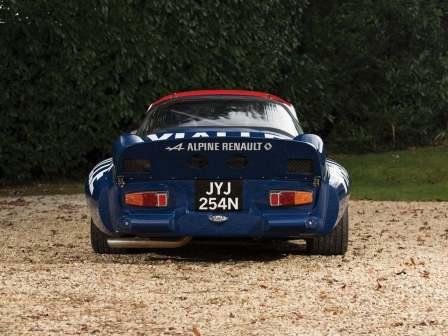 Alpine A110 B Vialle 1974 Rally cross (38)