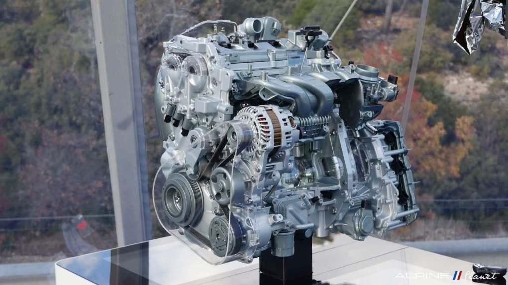 Alpine A110 Essai presse premiere edition moteur M5PT - 1-imp