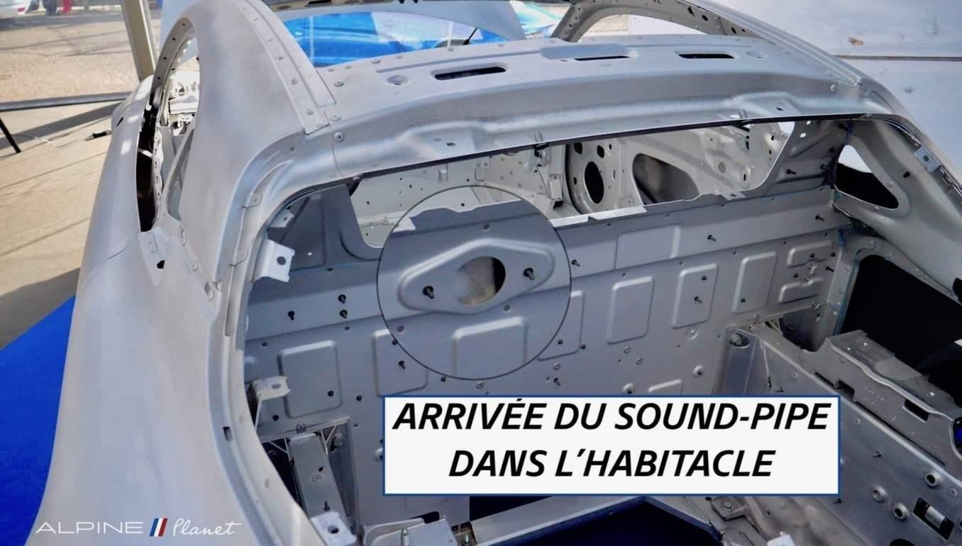 AlpineA110 soundpipe | Notre essai de la nouvelle Alpine A110 sur route !