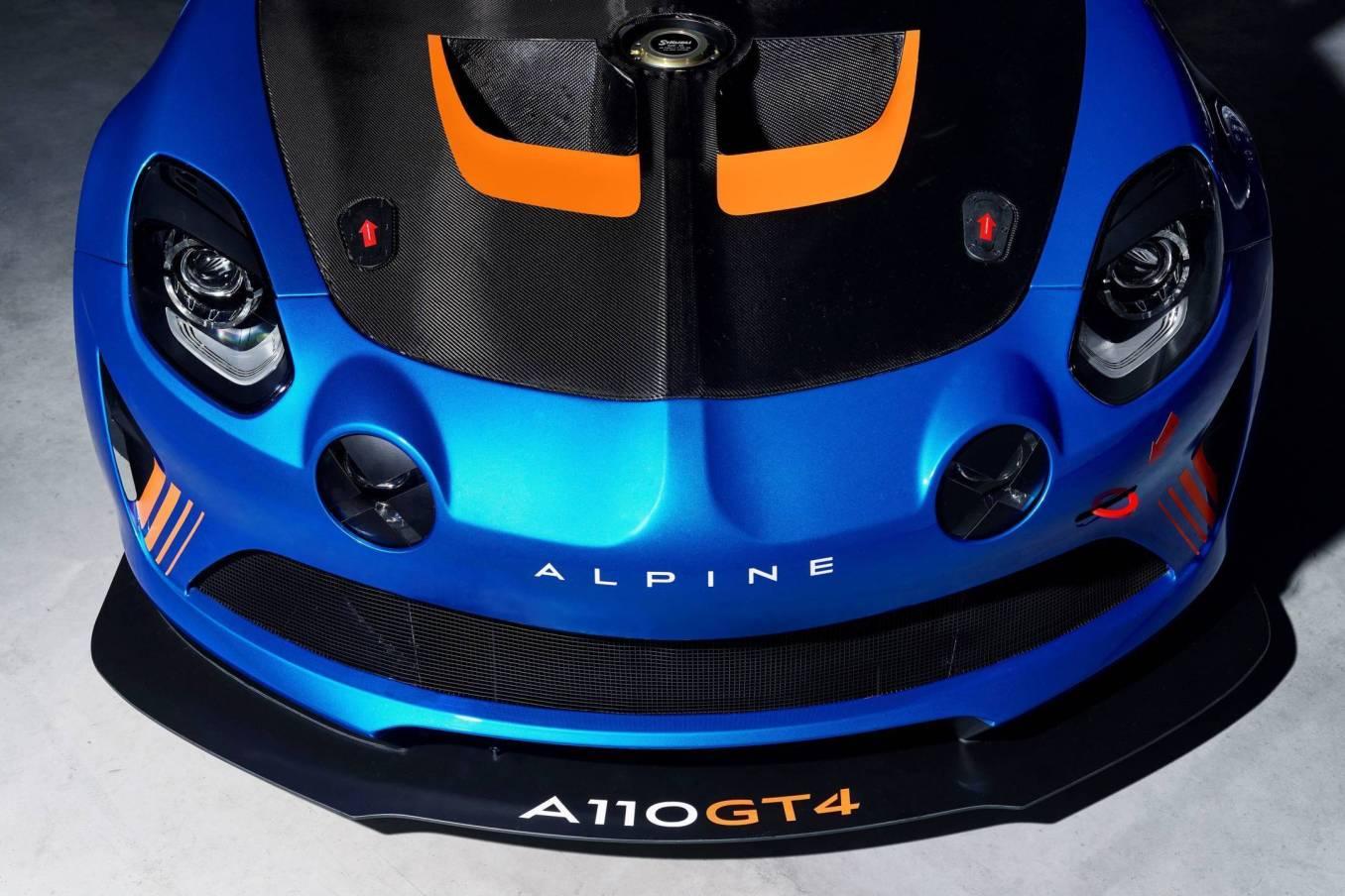 2018 alpine a110 gt4 | Alpine dévoile son A110 GT4 au Salon de Genève avec Signatech !