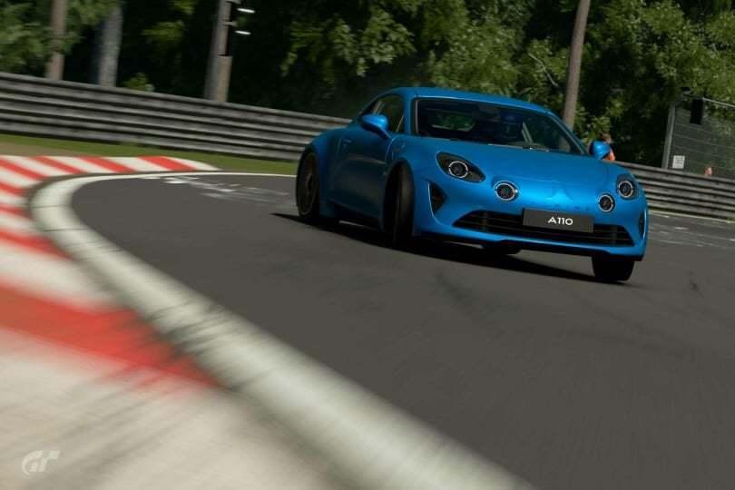 Les Alpine A110 1600S et Première Edition sont disponibles sur Gran Turismo Sport 2
