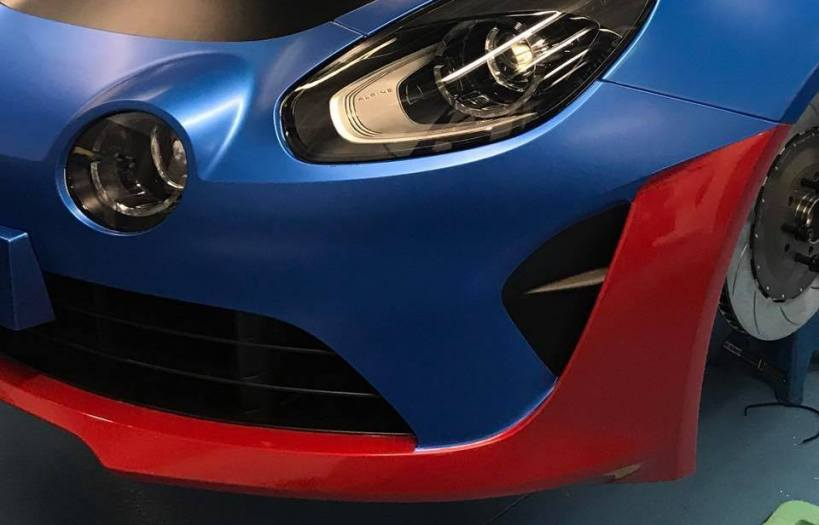 Alpine Planet A110 Europa Cup Signatech Ghostrider racing cmr - 2