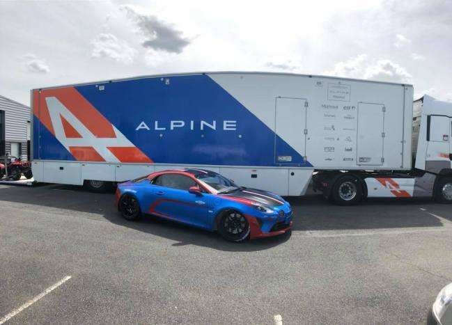 Alpine Planet A110 Europa Cup Signatech Ghostrider racing cmr - 4