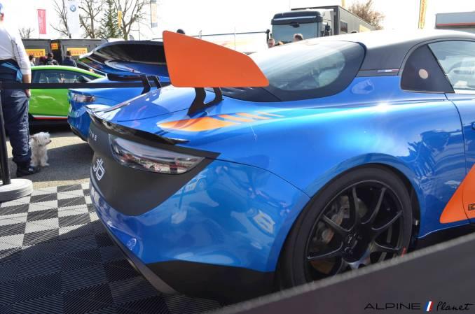 Alpine planet Coupes de Pâques Nogaro A110 GT4 2018 Alexandre Gaillardet 4-imp